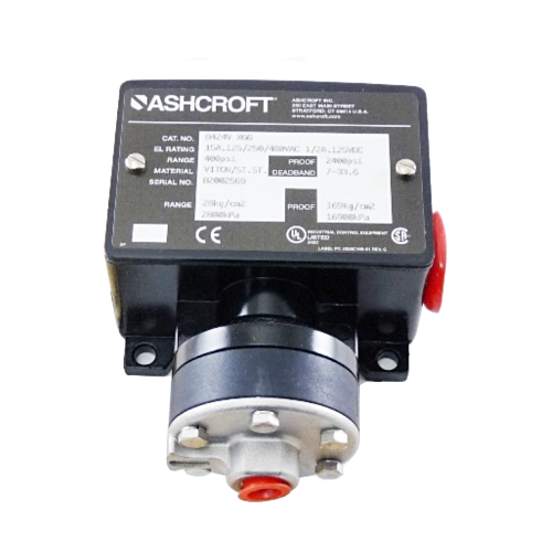 Ashcroft B424VXG6-0/400 Oil Switch
