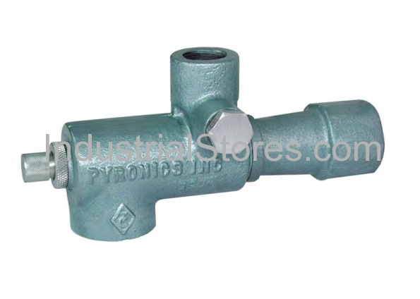 """Pyronics 2332-24-MF-T, 2"""" Gas Inlet NPT Mixer with Pressure Taps"""