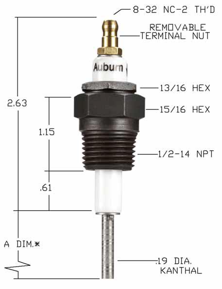 Auburn FRS-2-18 18 Flame Rod