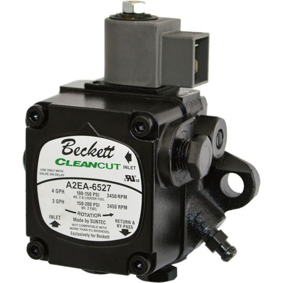 Beckett 2184404U Clean Cut Oil Pump 120 VAC 1-Stage