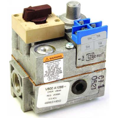 Honeywell V800A1088 Standard Opening Standing Pilot Gas Valve 24V