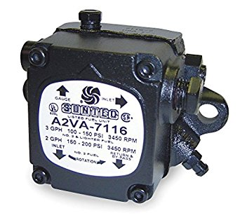 Suntec A2VA7116 Single Stage Oil Pump (3450 RPM)