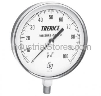 Trerice 620B4502LA090 4.5 0/30 psi 1/4 Lo Stainless Steel Case