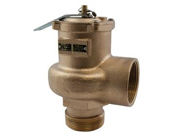 "Conbraco 14-206-08 High Volume Safety Relief Valve 2-1/2"" Male x Female"