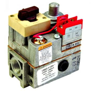 Honeywell VS820A1047 Combination Millivolt Gas Valve 1/2