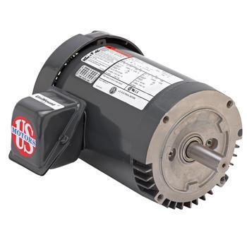 Nidec-US Motors (Emerson) U2P2DFCR Motor 2HP 208-230/460V 1735RPM 3-Phase