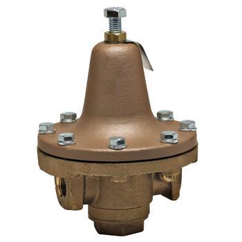 "Watts 0839740 Bronze Process Steam Pressure Regulator 1/2"" 30-140psi 252A"