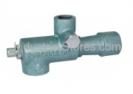 """Pyronics 2332-12-MF-T, 1-1/4"""" Gas Inlet NPT Mixer with Pressure Taps"""