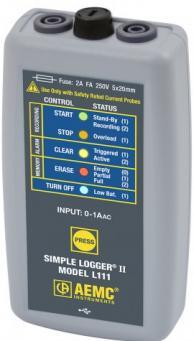 AEMC 2126.04 L111 Datalogger Ac Trms 1 Channel