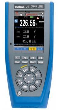 AEMC 2154.06 3293-BT TRMS Digital Datalogging Multimeter, 100000 Counts, Bluetooth