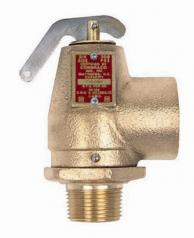"Conbraco 10-104-75 Hot Water Safety Relief Valve 3/4"" x 1"" 50psi 1035000Btu"