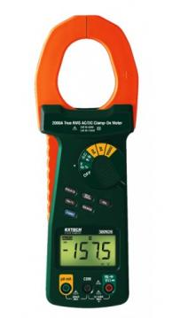 Extech 380926-NIST True RMS Clamp Meter with NIST Traceable Certificate, 2000A AC/DC