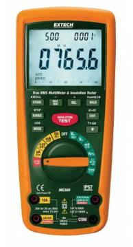 Extech MG300 True RMS Wireless Multimeter/Insulation Tester, 4000MΩ