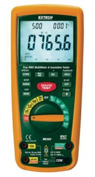 Extech MG302 True RMS Wireless Multimeter/Insulation Tester, 4000MΩ