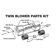 Lau 02484093 Twin Blower Parts Kit