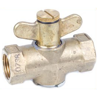 3050 Throttling Shut-off Valve 1/2MNPT X 1/2FNPT