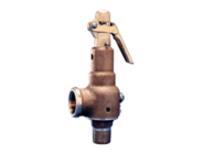 """Kunkle 6010JJM01-AM0200 Steam Relief Valve with side outlet 2-1/2"""" 200 PSI"""
