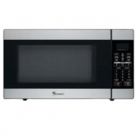 Magic Chef MCPMCD1811ST Stainless Steel Microwave with Digital Touch